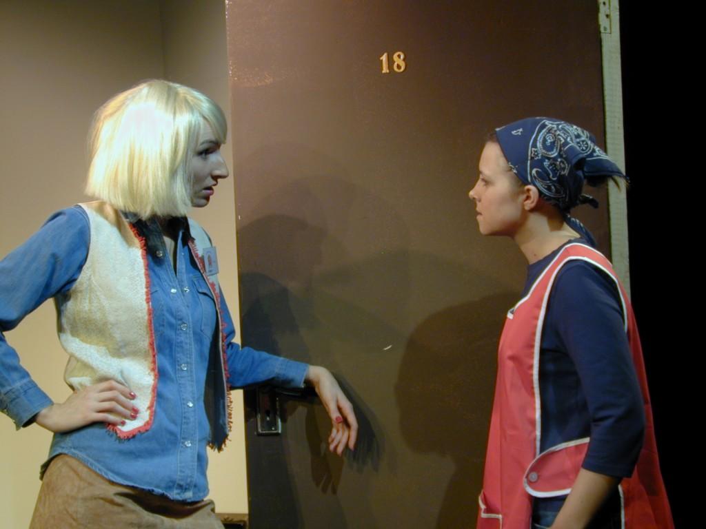 Anna Olson [Nugent] (Loretta) and Tara McKeever (Sophie)