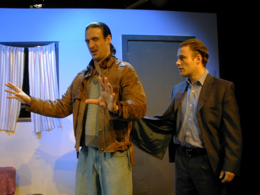 Charlie Kranz (Michael) and Alan Walsh (Dave).