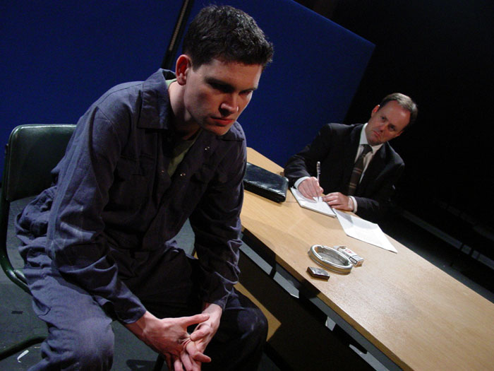 Steve (Paul Nugent) and Carl (Daniel Costello)