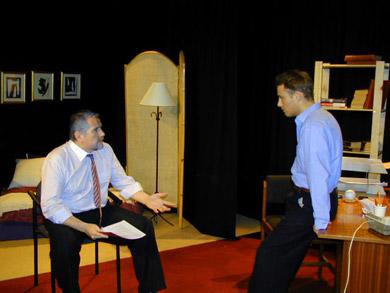 Pepe Roche (Howard Siegel) & Alan Walsh (Mercer Stevens)