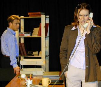 Alan Walsh (Mercer Stevens) & Anna Olson [Nugent] (Theresa Bedell)
