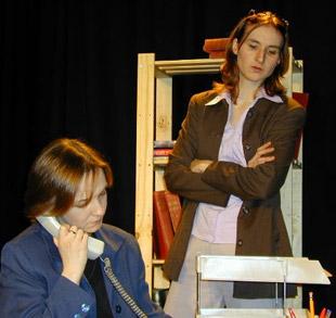 Aoife O'Beirne (Madeleine Beck) & Anna Olson [Nugent] (Theresa Bedell)