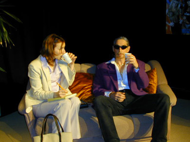 Anna Olson [Nugent] (Theresa Bedell) & Guy Carleton (Les Kennkat)