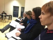Ozarks rehearsal